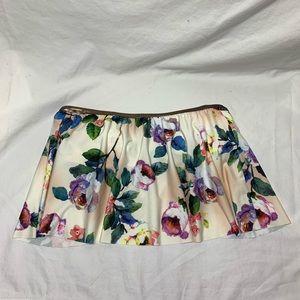 Gianni Bini Strapless Floral Bikini Top
